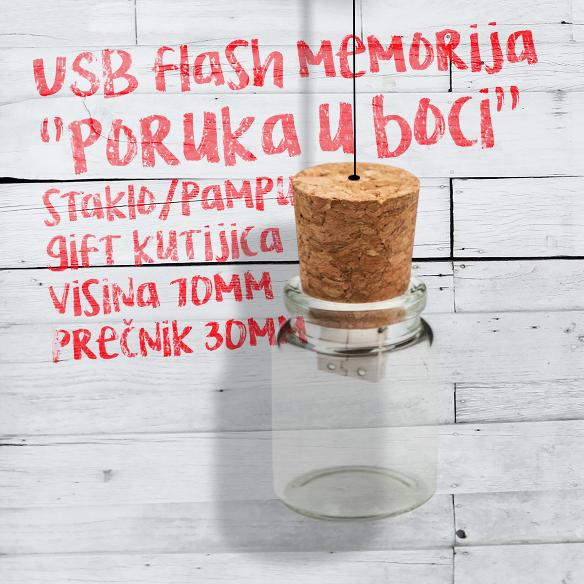 USB Message in the bottle