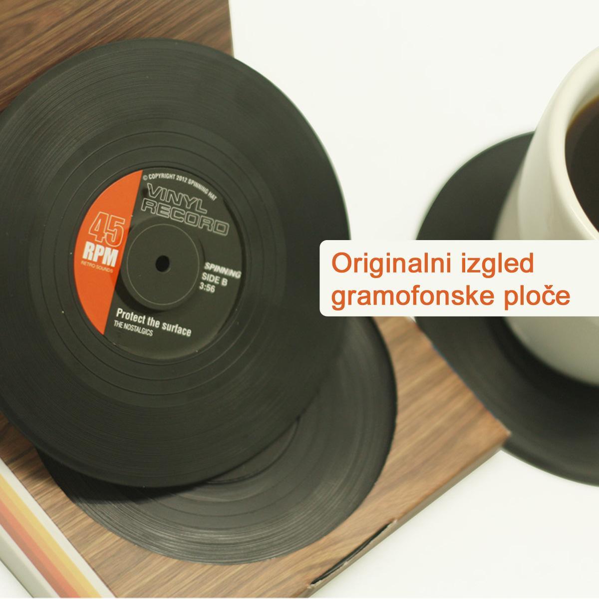 Vinyl podmetač za čaše